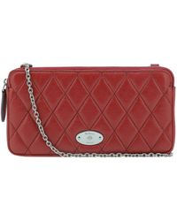 Mulberry LEDER POUCH - Rot