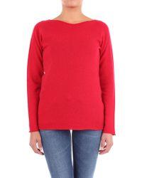 Lamberto Losani Red Cashmere Sweater