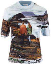 Chloé Printed T-shirt - Blue