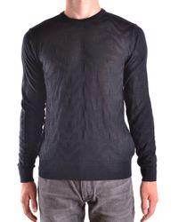 Armani Jeans - Black Wool Sweater - Lyst