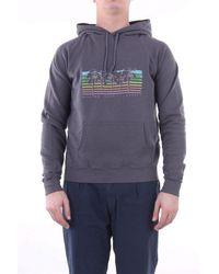 Saint Laurent Dunkelgraues sweatshirt - Mehrfarbig
