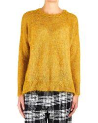8pm Yellow Wool Sweater