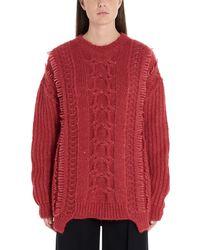 Stella McCartney Alpaca And Wool Knit Jumper - Pink