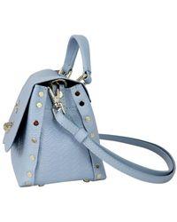 Zanellato Leather Handbag - Blue