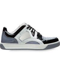 Fendi Mehrfarbige Sneakers - Grau