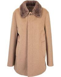 Loro Piana Brown Cashmere Coat