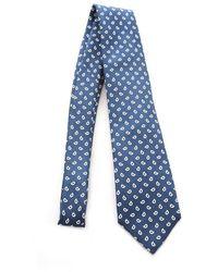 Fiorio Silk Tie - Blue