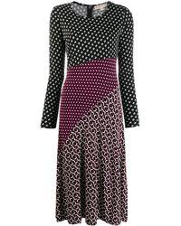 Michael Kors Kleid für Damen Günstig im Sale - Schwarz