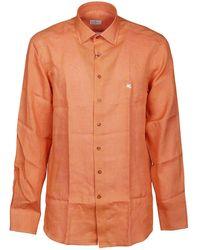 Etro ANDERE MATERIALIEN HEMD - Orange