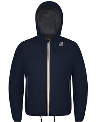 K-Way - Blue Polyester Outerwear Jacket - Lyst