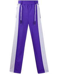 Palm Angels POLYESTER JOGGERS - Lila