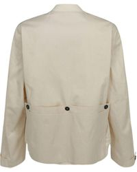 Jil Sander Other Materials Outerwear Jacket - Natural