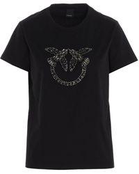 Pinko Cotton T-shirt - Black