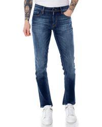 Antony Morato Blue Cotton Jeans