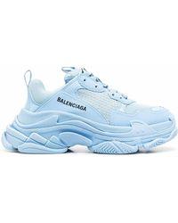 Balenciaga Triple S Sneaker - Blau