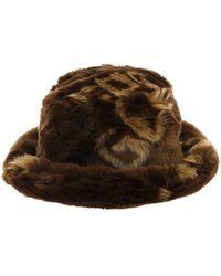 Gcds - Brown Acrylic Hat - Lyst