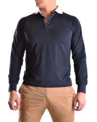 Etiqueta Negra Blue Cotton Polo Shirt