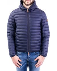 Save The Duck Polyamide Down Jacket - Blue