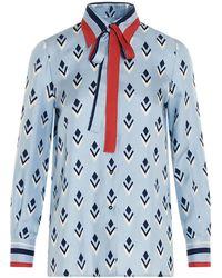 Valentino Silk Shirt - Blue
