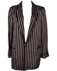 Pinko Black Silk Jacket