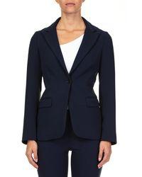 P.A.R.O.S.H. Blue Wool Blazer