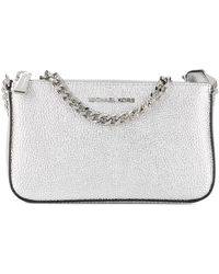 Michael Kors Leather Handbag - Metallic