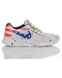 Nike Synthetic Fibres Sneakers - White