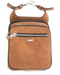 Amiri W9a32225subrown wildleder pouch - Braun
