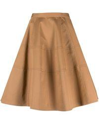 Aspesi Cotton Skirt - Natural