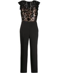 Michael Kors Black Polyester Jumpsuit