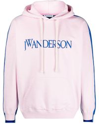 JW Anderson BAUMWOLLE SWEATSHIRT - Pink