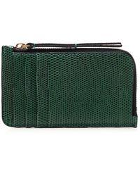 Isabel Marant Leather Card Holder - Green