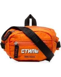 Heron Preston Polyamide Belt Bag - Orange