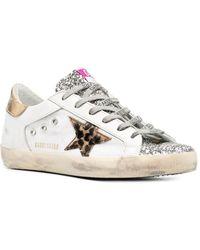Golden Goose Superstar Sneakers - Mettallic