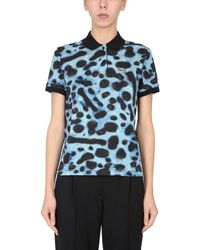 Lacoste ANDERE MATERIALIEN POLOSHIRT - Blau