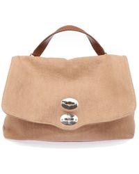 Zanellato Stoff handtaschen - Natur