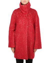 Liu Jo Red Polyester Coat