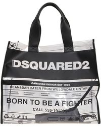 DSquared² Pvc Tote - Black