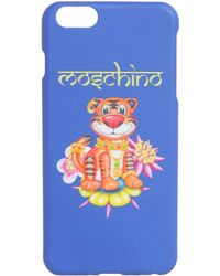 Moschino Blue Pvc Cover