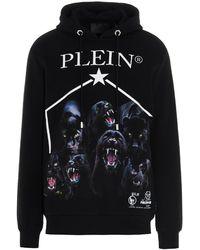 Philipp Plein Men's Paacmjb2410pjo002n02 Black Other Materials Sweatshirt