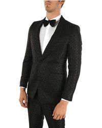 Burberry Wool Suit - Black