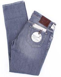 Jacob Cohen Jeans modell 625 in grau