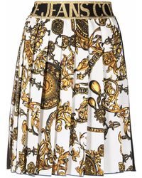 Versace Jeans Couture POLYESTER ROCK - Weiß