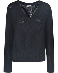 P.A.R.O.S.H. WOLLE SWEATER - Schwarz