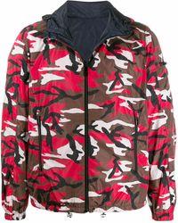 Prada Polyamide Outerwear Jacket - Red