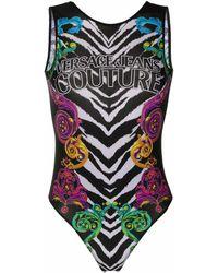 Versace Jeans Couture Polyamide Bodysuit - Multicolour