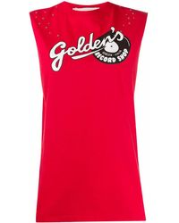 Golden Goose Womens Clothing - Red