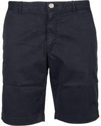 Woolrich ANDERE MATERIALIEN SHORTS - Blau