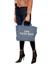 Marc Jacobs Traveller Tote Small - Blau