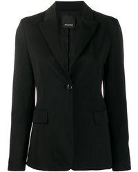 Pinko Viscose Blazer - Black